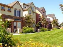 Maisons urbaines modernes dans Santa Clara Image libre de droits