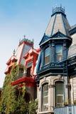 Maisons victoriennes Photographie stock libre de droits