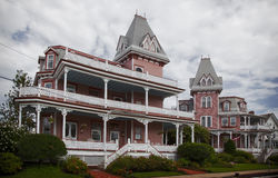 maisons victoriennes de Cape May Photos stock
