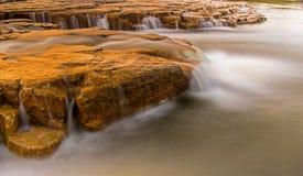 Maitland Falls Near Goderich, Ontário, Canadá fotos de stock royalty free