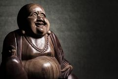 Maitreya雕塑 库存照片