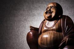 Maitreya雕塑 免版税图库摄影