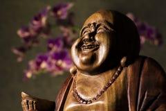 Maitreya雕塑 库存图片