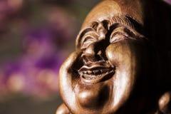 Maitreya雕塑 免版税库存图片