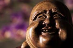 Maitreya雕塑 图库摄影