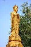 Maitreya Bouddha blanc chez Wat Pusawan Phetchaburi Photo stock