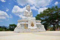 Maitreya Bouddha chez Wat Pusawan Phetchaburi Thailand Image stock