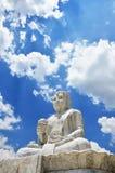 Maitreya Bouddha chez Wat Pusawan Phetchaburi Thailand Photo stock