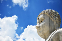 Maitreya Bouddha chez Wat Pusawan Phetchaburi Thailand Photographie stock
