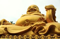 Maitreya Buddha Royalty Free Stock Photo