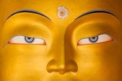 Maitreya Buddha. Buddha of the Future, Thiksey Gompa, Ladakh, India Royalty Free Stock Image