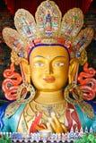 Maitreya buddha Arkivbild