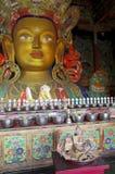 Maitreya Buddha da Thiksey Immagini Stock Libere da Diritti