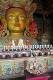 Maitreya Buddha de Thiksey imagens de stock royalty free