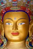 Maitreya Buddha (Future Buddha) at Thiksey Gompa in Leh, India Stock Image