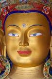 Maitreya Buddha (Future Buddha) at Thiksey Gompa in Leh, India Royalty Free Stock Photos