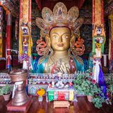 The Maitreya Buddha Royalty Free Stock Photography