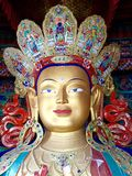 Maitreya buddha head Royalty Free Stock Photos