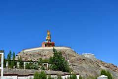 Maitreya Buddha in Ladakh, India Royalty Free Stock Photography