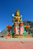 Maitreya Buddha in Ladakh, India Royalty Free Stock Images