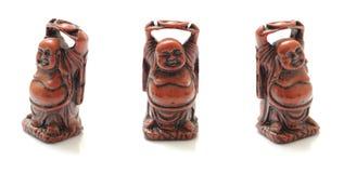 Maitreya Buddha mit unterschiedlichem Winkel Lizenzfreie Stockfotografie