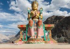 Maitreya Buddha at Nubra valley, ladakh India Stock Images