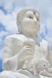 Maitreya Buddha på Wat Pusawan Phetchaburi Thailand Royaltyfria Foton
