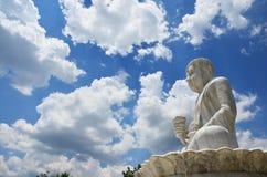 Maitreya Buddha på Wat Pusawan Phetchaburi Thailand Arkivbild