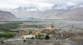 Maitreya Buddha statua w Ladakh, India zdjęcie royalty free