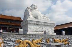 Maitreya buddha statue Stock Photo