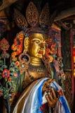 Maitreya Buddha statue Stock Photography