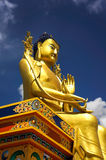 Maitreya Buddha Statue in Diskit Monastery Stock Photo