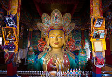 Maitreya buddha statue Royalty Free Stock Photos
