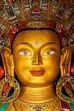 Maitreya Buddha in Thiksey Gompa Stock Photography