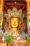 Maitreya Buddha in Thiksey Monastery, Stock Photo