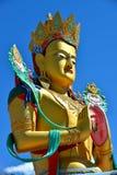 Maitreya Buddha w Ladakh, India zdjęcia stock