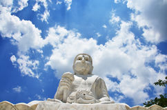 Maitreya Buddha at Wat Pusawan Phetchaburi Thailand Stock Images