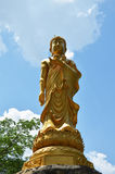 Maitreya Buddha at Wat Pusawan Phetchaburi Thailand Royalty Free Stock Photos