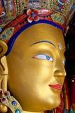 Maitreya Buddha (zukünftiger Buddha) bei Thiksey Gompa in Leh, Indien Stockbild