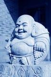 Maitreya Buddhas stone carving works Stock Photography
