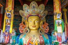 Maitreya - estátua futura da Buda Foto de Stock