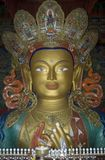 Maitreya, futur Bouddha, Tiksey, Ladakh, Inde Photo libre de droits