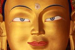 The Maitreya (future Buddha)01 Stock Photo