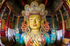Maitreya - Future Buddha statue Royalty Free Stock Photo