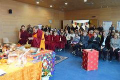 Maitreya Heart Shrine Relic Tour Royalty Free Stock Photo