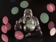 Maitreya skulptur Royaltyfria Foton