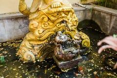 Maitreya staty i Kina Fotografering för Bildbyråer