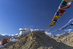 Maitreya Temple in Leh, Ladakh, India Stock Image
