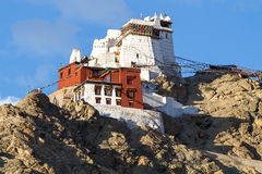 Maitreya Temple overlooking Leh, Ladakh Royalty Free Stock Photos