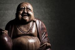 Maitreya sculpture Royalty Free Stock Images